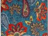 """Mohawk Home Decorative area Rug Mohawk Home Multicolor New Wave Whinston Paisley Floral area Rug 2 6""""x3 10"""""""