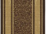 Mohawk Home Leaf Point Brown Indoor Inspirational area Rug Amazon Ottomanson Authentic Collection Contemporary
