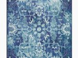 "Mohawk Home Pure soft area Rug Mohawk Prismatic Blanchard Medium Blue Multi 5 0"" X 8 0"""