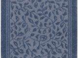 Mohawk Home Wellington Bath Rug Mohawk Wellington Blue 5 X7 Bath Mat