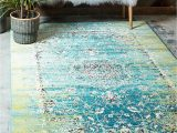 Mohawk Imperial Bath Rug Unique Loom Imperial Collection Modern Traditional Vintage Distressed Blue area Rug 2 0 X 3 0