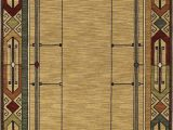 Mohawk Leaf Point area Rug Mission Rugs Arts and Crafts