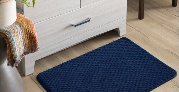 Mohawk Memory Foam Bath Rug Mohawk Memory Foam Bath Rug 18 X 27 Blue Admiral