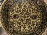 Mohawk Spa Bath Rug Round Elegant 5×5 Floral Green Sage Border Rug for the Home New Just In