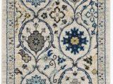 Montelimar Ivory Blue area Rug Aegean Ivory Blue area Rug