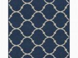Moroccan Trellis Rug Blue Hedley Moroccan Trellis Lattice Blue area Rug
