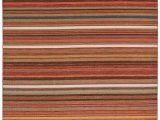 Multi Colored Striped area Rugs Amazon Stone & Beam Modern Multi Colored Stripe Rug 4