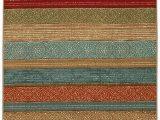 Multi Colored Striped area Rugs Mohawk Home Samsun Batik Striped area Rug 7 6×10