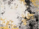 Mustard Yellow and Gray area Rug Surya Pepin Contemporary Ii area Rugs