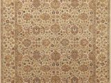 """Naomi Tufted Wool area Rug E Of A Kind Naomi All Over Floral Hand Knotted 8 X 10 1"""" Wool Brown area Rug"""