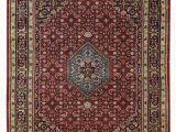 Nathanson Terracotta Peach area Rug Shephard Hand Knotted Wool Red area Rug