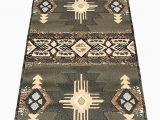 Native American Indian Design area Rugs Rugs 4 Less Collection southwest Native American Indian Runner area Rug Design R4l 318 Olive Green Sage Green 2 X7