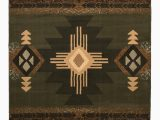 Native American Inspired area Rugs Allport High Quality Woven Native American Runner Double Shot Drop Stitch Carving Sage Green area Rug