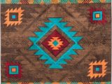 Native American Inspired area Rugs Native American Style Rug Native American Style area Rug