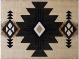 Native American Print area Rugs south West Native American area Rug 5 Feet X 7 Feet Berber Design C318