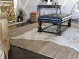 Natural Jute Braided Maui area Rug Rugsusa Jute Rug Review & why We Bought Two