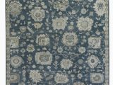 Navy and Beige area Rug Exquisite Rugs Museum Hand Knotted 3494 Navy Beige area Rug
