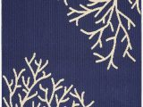 Navy and Coral area Rug Details About Tropical Wild Coral area Rug Carpet Coastal Beach House Ocean Sea Modern Decor
