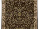 Navy and Green area Rug Janna Casual Navy Brown Green Rug