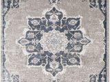 Navy and Taupe area Rug Acadian oriental Navy Taupe area Rug
