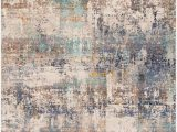 """Navy and Taupe area Rug Amazon Thurgoona 2 9"""" X 5 Rectangle Modern 100"""