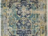 Navy and Taupe area Rug Festival Hand Knotted Wool area Rug From Suryasocial Mixes
