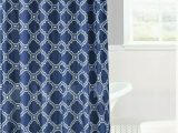 "Navy Bath Rug Set Elegant 4pc Set Bathroom Trellis Morocco Honey Pattern Navy Rug softy Washable Includes 1 Bath Mat 18""x 30"" 1 Bath Mat 17""x 17"" 12 Fabric Covered"