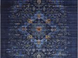 Navy Blue and Black area Rug Figueroa Navy Blue Black area Rug