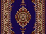 Navy Blue and Brown area Rug Charlene Navy Blue Brown area Rug