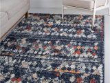 Navy Blue and Brown area Rug Morocco Navy Blue 4×6 area Rug In 2020