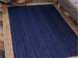 Navy Blue and Brown area Rug Niagara Hand Braided Navy Blue Brown area Rug