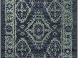 Navy Blue and Gray Runner Rug Maples Rugs Georgina Traditional Runner Rug Non Slip Hallway Entry Carpet Made In Usa 2 X 6 Navy Blue Green