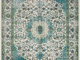 Navy Blue and Lime Green Rug Aberdine Teal Lime area Rug