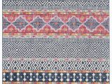 Navy Blue and Pink area Rug Bungalow Rose Gutierez Geometric Navy area Rug & Reviews