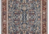 Navy Blue and Red Rug Darcy oriental Navy Red area Rug