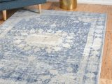 Navy Blue and Teal area Rugs Parodi Navy Blue area Rug
