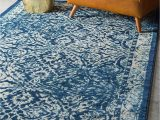 Navy Blue and Teal area Rugs Unique Loom Oslo Traditional Botanical area Rug 6 0 X 9 0 Navy Blue Beige