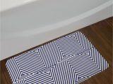 Navy Blue and White Bathroom Rug Cool Dark Blue and White Navy Blue Bath Rug