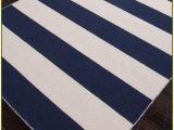Navy Blue and White Striped Rug Navy Blue and White Striped Rug