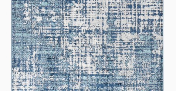 Navy Blue area Rug Walmart Hampton Collection Modern Washed Navy Blue White area Rug