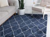 Navy Blue Bedroom Rugs Morroccan Shag Navy Blue 5×8 area Rug In 2020