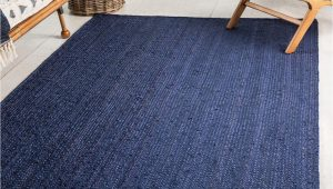 Navy Blue Braided Rugs 5 X 8 Braided Jute Rug