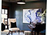 Navy Blue Cowhide Rug formal Sitting Room with Metallic Cowhide Rug Navy Walls