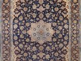 Navy Blue Floral Rug Floral Najafabad Persian Navy Blue area Rug 10×13 10×13