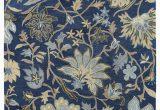 Navy Blue Floral Rug Kaleen Brooklyn Brody Rug Blue Floral Payless Rugs