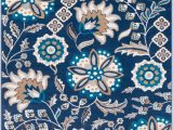 Navy Blue Floral Rug Surya Clairmont Cmt 2311 Navy Transitional Floral Rug From