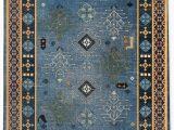 Navy Blue Gold Rug Lunnard Navy Gold Blue Rug