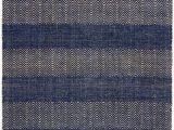 Navy Blue Herringbone Rug Ives Navy Blue Rug Flatweave Rugs In Herringbone Design