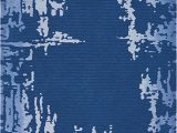 Navy Blue Large area Rug Amazon Nourison Symmetry Distressed Navy Blue 7 9