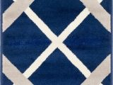 Navy Blue Plaid Rug Plaid Navy Blue area Rug